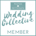 Pasties and Petticoats Wedding Collective - Members Badge