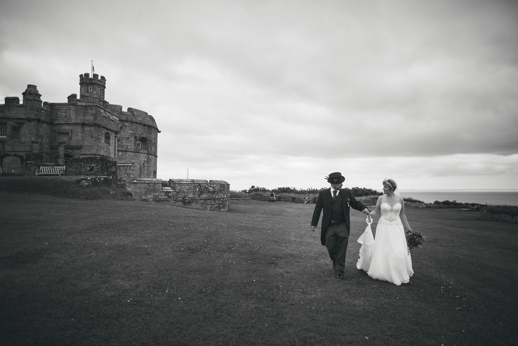 Debbie and Mark's Wedding at Pendennis Castle