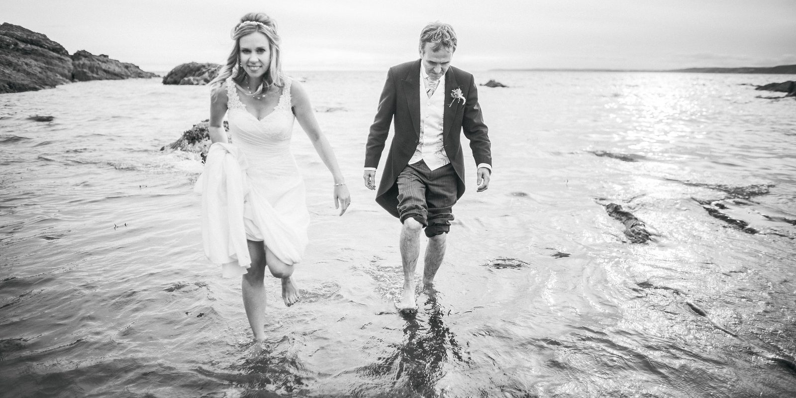 Claire and Keith's Wedding at Polhawn Fort
