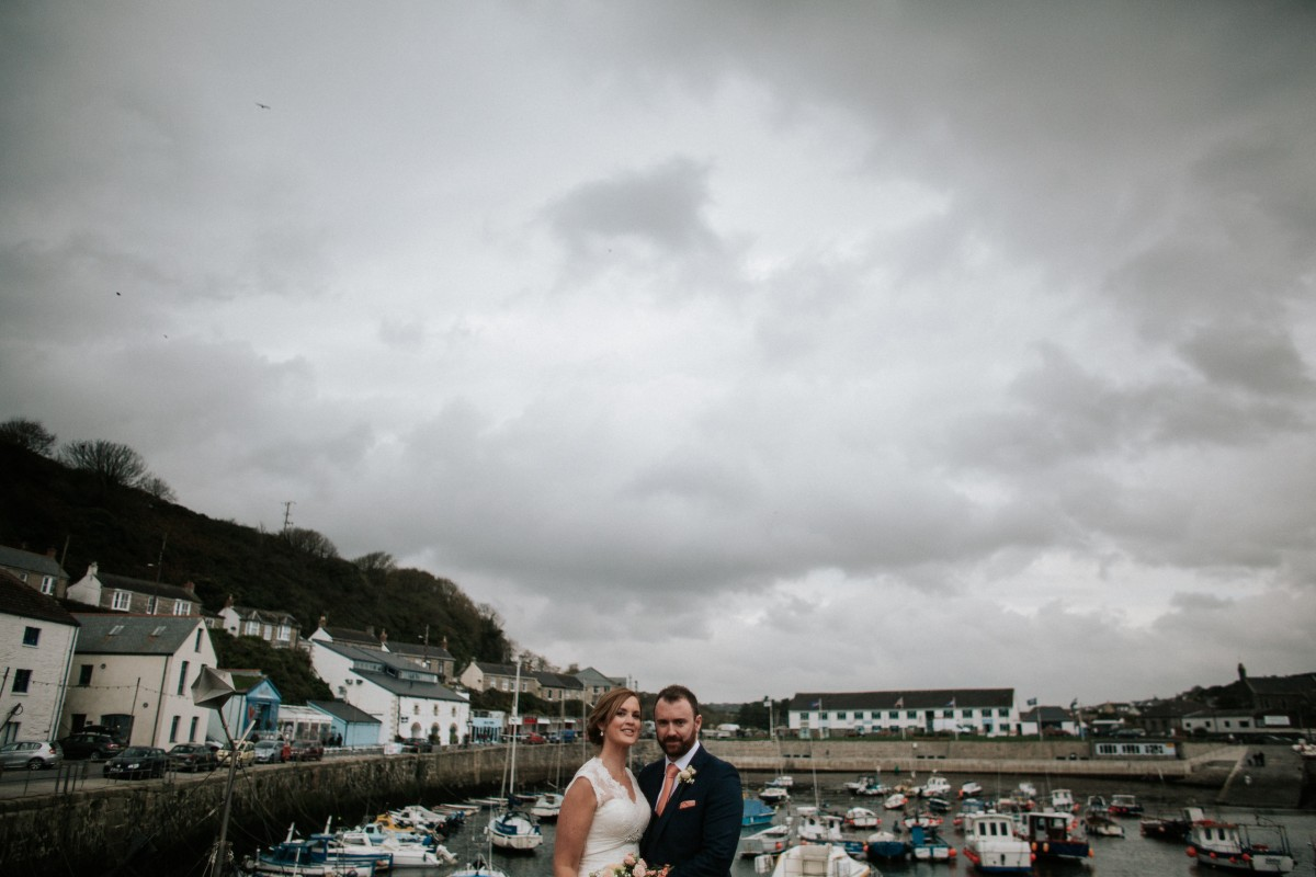 Claire and Patrick's Wedding Day at Amélie's