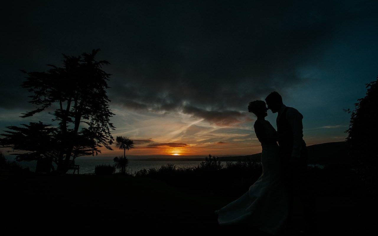 Alex + Nick's Wedding at Polhawn Fort