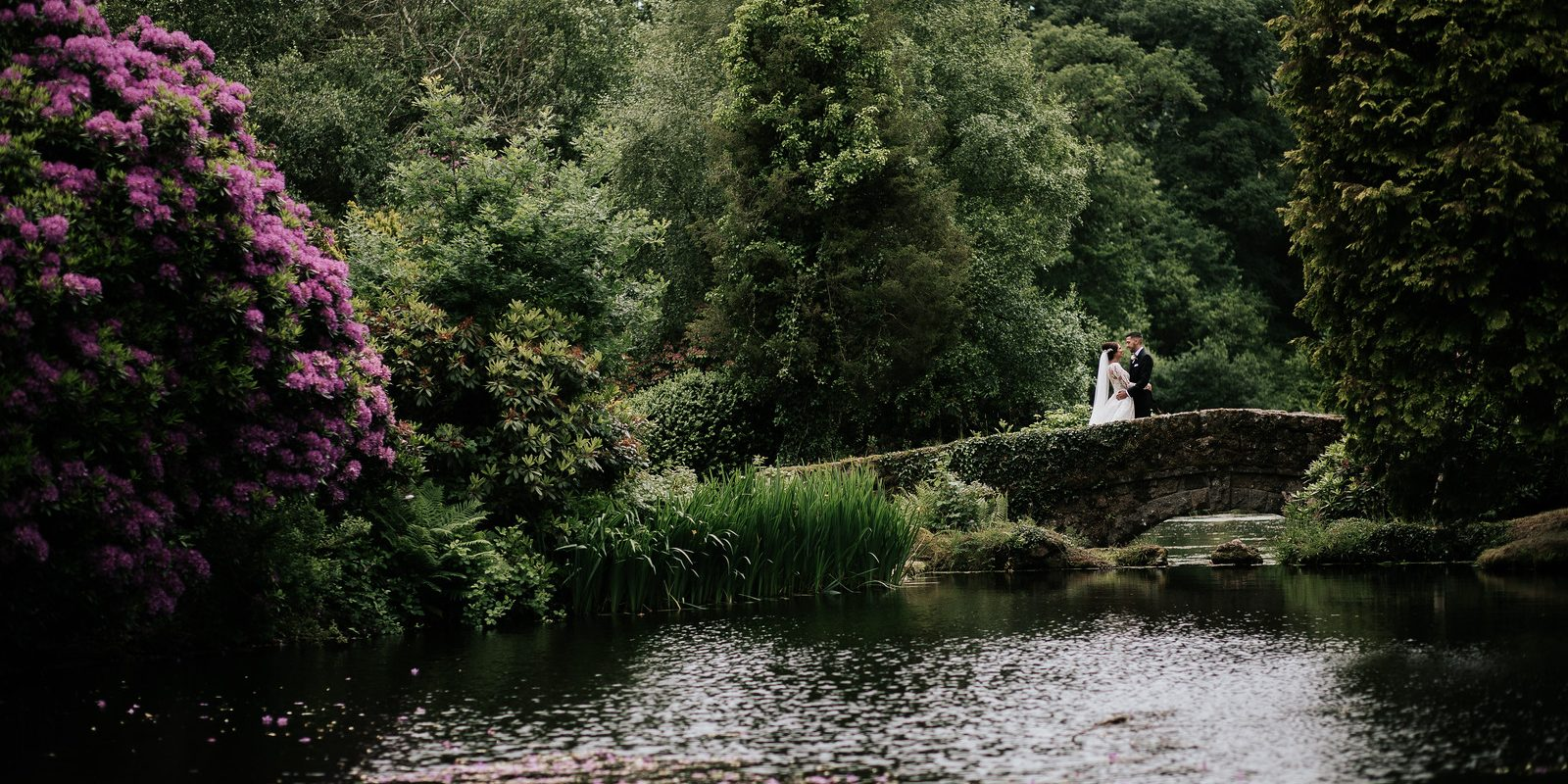Amy and Liam's Wedding at Bovey Castle