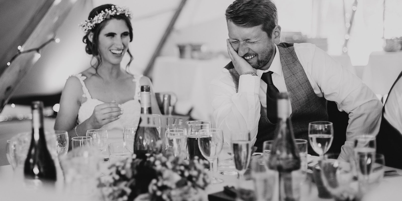 Charlotte and Nathan's Garden Party Inspired Wedding