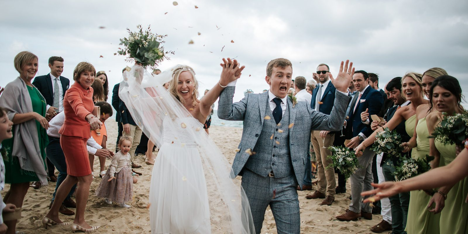 Katie and Andy's Wedding at Carbis Bay